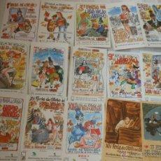 Postales: MINGOTE 28 TARJETAS POSTALES - FERIA DEL LIBRO VIEJO Y ANTIGUO DE MADRID 1989-2016 POSTAL COMPLETA. Lote 41810345