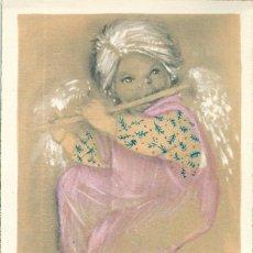 Postales: 0718P - MERCEDES LLIMONA - PRECIOSO RECORDATORIO EDICIONES SUBIRANA SERIE 23.3 -MIDE 12X8 CM -1961. Lote 45087498
