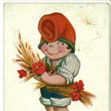 Postales: POSTAL CATALANISTA ILUSTRACION J. IBAÑEZ Nº 413 EN TONI CIRCULADA 1919 13.5 X 8,5 CM (APROX). Lote 45146066