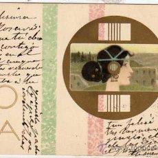 Postales: POSTAL ILUSTRADA FIRMADA POR=RAPHAEL KIRCHNER ROMA CIRCULADA.. Lote 45238738