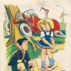 Postales: 0753S - IKON - EDICIONES DE ARTE - EDITORIAL ARTIGAS- SERIE 58 -DATA 1946 - ILUSTRA BOMBÓN. Lote 45537774