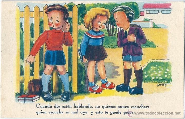 0784S - IKON - EDICIONES DE ARTE - EDITORIAL ARTIGAS- SERIE 66 -DATA 1946 - ILUSTRA BOMBÓN (Postales - Dibujos y Caricaturas)
