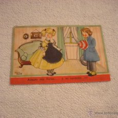 Postales: COLECCION MARIA CLARET SERIE 0 Nº 3. CIRCULADA 1945. Lote 45705441