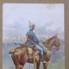 Postales: ILUSTRACIÓN DE CUSACHS. UNIFORMES MILITARES. (L.B. LUIS BARTRINA) . Lote 45963750