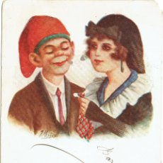 Postales: PS5188 'PARELLA CATALANA'. ILUSTRADA POR J. IBÁÑEZ. CIRCULADA EN 1922. Lote 46072271
