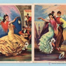 Postales: 1701 DIEZ POSTAL DE TRAJES REGIONALES DE ESPAÑA SIN CIRCULAR . Lote 46569156