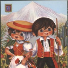 Postales: TENERIFE - TRAJES TIPICOS. Lote 46935165