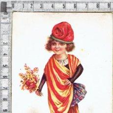 Postales: POSTAL PATRIOTICA ALEGORIA DE CATALUÑA 1930-36.. Lote 47243572