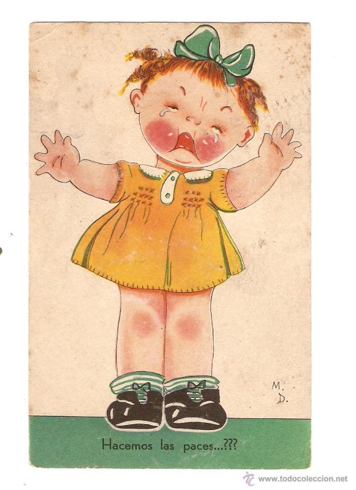 POSTAL - ILUSTRADOR M D - EDICIÓN Nº 12 - AGUIRRE - SAN SEBASTIÁN (Postales - Dibujos y Caricaturas)