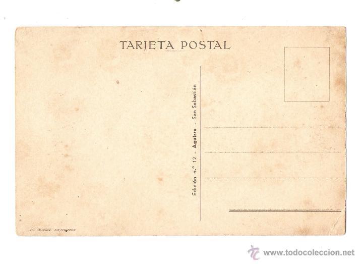 Postales: POSTAL - ILUSTRADOR M D - EDICIÓN Nº 12 - AGUIRRE - SAN SEBASTIÁN - Foto 2 - 47262800