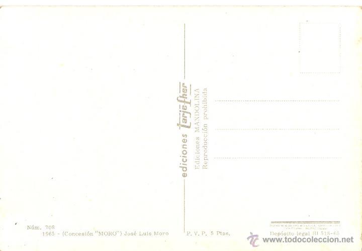 Postales: POSTAL - FAMILIA TELERÍN - EDICIONES TARJEFHER - EDICIONES MANDOLINA - Nº 708 - Foto 2 - 47277151