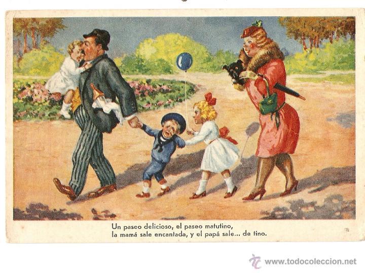 POSTAL - EDICIONES DÜMMATZEN (P D) - SERIE 252 (Postales - Dibujos y Caricaturas)