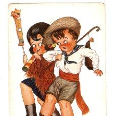 Postales: POSTAL - ILUSTRADOR E HERTOGS - EDICIONES VICTORIA N COLL SALIETI - SERIE 1207. Lote 47298667