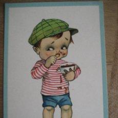 Postales: LOTE 22 POSTALES INFANTILES ILUSTRADAS. C.M.B. SERIE 5 COMPLETA. EXCELENTE ESTADO. Lote 47307001
