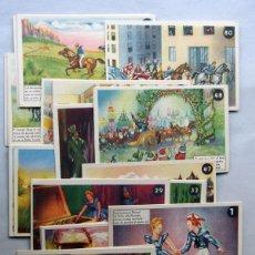 Postales: 70 POSTALES DIFERENTES / AVENTURAS DE LOS HERMANOS FLORISOL / AÑO 1935 / COMERCIAL ANDREU. Lote 47521384