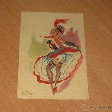Postales: POSTAL DE CANCAN. Lote 47961716