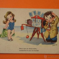 Postales: POSTAL - EDICIONES TRIO SERIE 58 - CIRCULADA. Lote 47985587