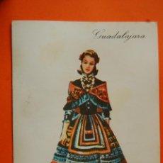 Postales: POSTAL - GUADALAJARA TRAJE REGIONAL - PUBLICIDAD LABORATORIOS PRONITOL - CIRCULADA EN 1973. Lote 119714791