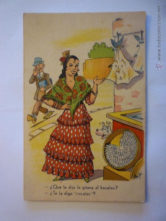 POSTAL IKON EDICIONES DE ARTE SERIE 46. ILUSTRADA E. BOIX. CIRCULADA (Postales - Dibujos y Caricaturas)