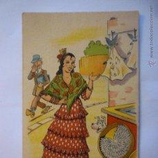 Postales: POSTAL IKON EDICIONES DE ARTE SERIE 46. ILUSTRADA E. BOIX. CIRCULADA. Lote 48691681