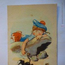 Postales: POSTAL EDICIONES TRIO. SERIE 45. CIRCULADA 1948.. Lote 48694978