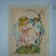 Postales: POSTAL EDICIONES FENIX. SERIE 3008. ILUSTRADA POR JIMENEZ A. CIRCULADA 1949. Lote 48698802