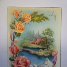 Postales: POSTAL. EDITORIAL CYZ 532/B. ESCRITA 1960. Lote 48840471