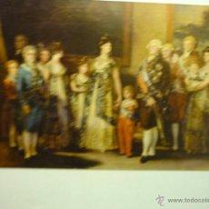 Postales: POSTAL MUSEO DEL PRADO.FAMILIA CARLOS IV -ESCRITA-CM. Lote 49268009