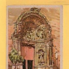 Postales: POSTAL DIBUJO DE LLOVERAS FACHADA DE SAN FRANCISCO DE PALMA DE MALLORCA EDITOR ARCHIVO DE BARCELONA. Lote 49536317