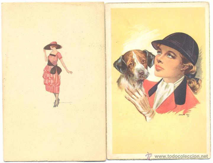LOTE DE POSTALES DIBUJOS (Postales - Dibujos y Caricaturas)