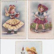 Postales: P- 1842. LOTE 3 POSTALES DIBUJADAS C. Y Z. . Lote 50117772