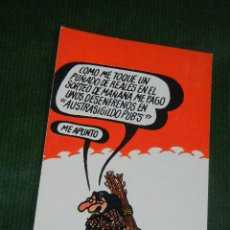 Postales: POSTAL LOTERIA SERIE G - FNMT 1974 FORGES DIBUJOS HUMORISTICOS N.7. Lote 50307444