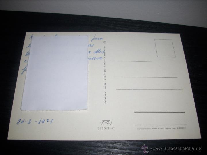 Postales: POSTAL CARICATURA MUJER -- ESCRITA 1975 - - Foto 2 - 51035524