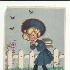 Postales: POSTAL MARI-PEPA. MARIA CLARET. . SERIE B Nº 9 DESPACIO PERO SEGURO ( VER FOTOS). Lote 51485654