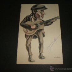 Postales: LA GUITARRA POSTAL ILUSTRADA ANTERIOR A 1905. Lote 51804852