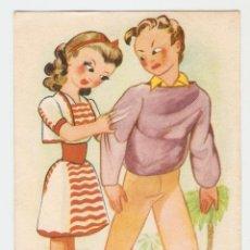 Postales: POSTAL - EDICIONES LLAMA - SERIE 8 - ILUSTRADOR RIPOLL. Lote 51919392