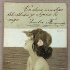 Postales: POSTAL ILUSTRADA POR RAPHAEL KIRCHNER. 1903. REVERSO SIN DIVIDIR. . Lote 51970394