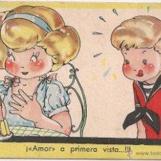 Postales: MARI PEPA. SERIE S NUM.6. 13X8 CM. REVERSO ESÇRITO Y CON SELLOS 1947. Lote 52537516