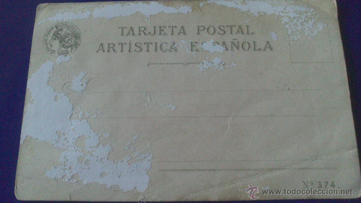 Postales: POSTAL JEROGLIFICO MODERNISTA, CALLEJA - Foto 2 - 52927280