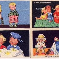 Postales: 8 POSTALES INFANTILES- EDICIONES SANTA CRUZ. Lote 53078304