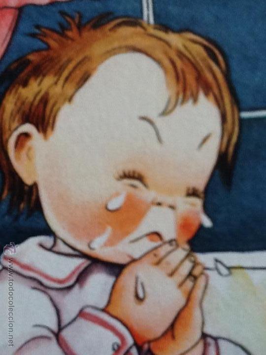 Postales: POSTALES ANTIGUAS CON DIBUJOS 4 postales sin circular - Foto 4 - 53811585
