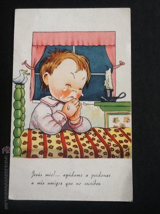 Postales: POSTALES ANTIGUAS CON DIBUJOS 4 postales sin circular - Foto 5 - 53811585