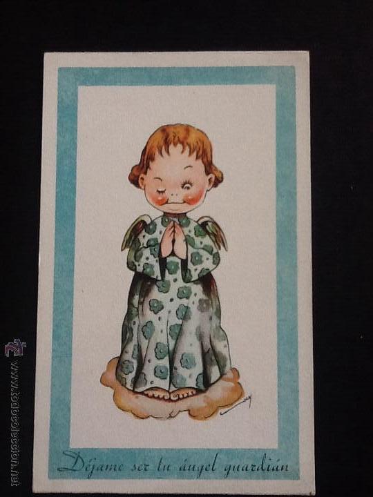 Postales: POSTALES ANTIGUAS CON DIBUJOS 4 postales sin circular - Foto 6 - 53811585