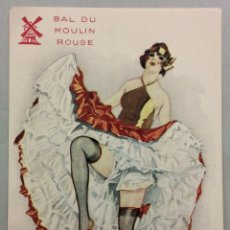 Postales: BAL DU MOULIN ROUGE. RAYON D'OR. A. CHAZELLE. CAN CAN.. Lote 54091644