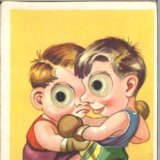 Postales: POSTAL CIRCULADA - 1955 - BOXEO. Lote 54102226