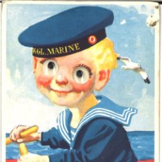 Postales: POSTAL CIRCULADA - NIÑO - MARINERO - 1955. Lote 54102300
