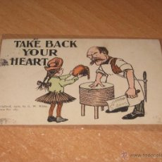 Postales: POSTAL TAKE BACK YOUR HEART. Lote 54574856