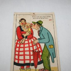 Postales: BONITA POSTAL ANTIGUA DE HUMOR, MARGARA, MADE IN SPAIN. Lote 54750190