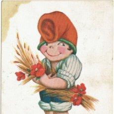 Postales: PS5184 POSTAL CATALANISTA. 'EN TONI'. J. IBÁÑEZ. CIRCULADA EN 1921. Lote 46072023
