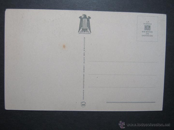Postales: POSTAL IKON- EDICIONES DE ARTE SERIE 28 SIN CIRCULAR, EXCELENTE - Foto 2 - 54976863
